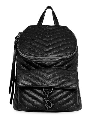 Rebecca Minkoff edie quilted leather backpack