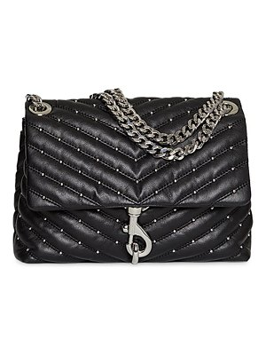 Rebecca Minkoff edie studded quilted leather shoulder bag