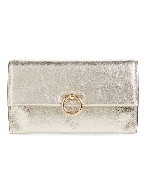 Rebecca Minkoff jean convertible leather clutch