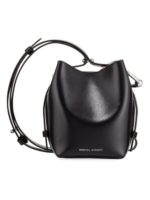 Rebecca Minkoff Kate Mini Leather Bucket Bag