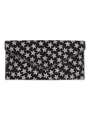 Rebecca Minkoff Leo Star-Print Leather Clutch Bag