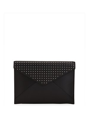 Rebecca Minkoff Leo Studded Leather Clutch Bag