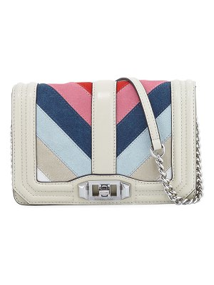 Rebecca Minkoff Love Small Chevron Patchwork Crossbody Bag