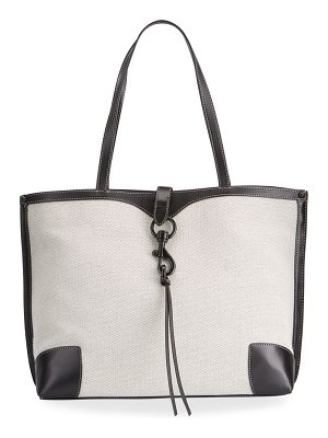 Rebecca Minkoff Megan Bicolor Bucket Tote Bag