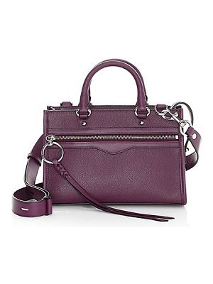 Rebecca Minkoff micro bedford leather zip satchel