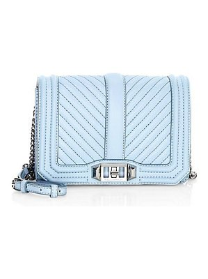 Rebecca Minkoff small love chevron quilted crossbody