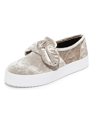 Rebecca Minkoff stacey stud bow sneakers
