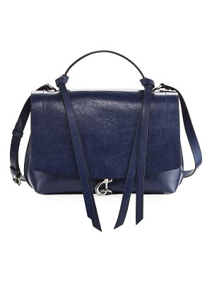 Rebecca Minkoff Stella Distressed Leather Satchel Bag