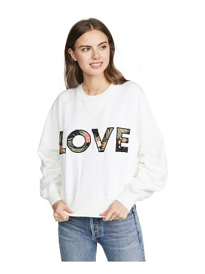 Rebecca Minkoff tropical ruby sweatshirt