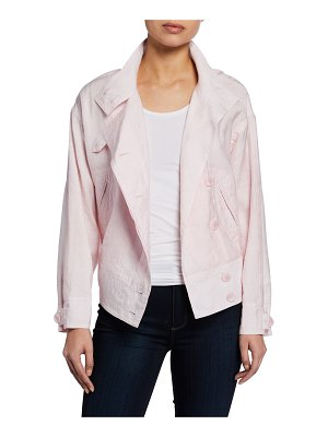 Rebecca Minkoff Zahara Double-Breasted Jacket