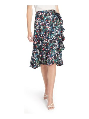 Rebecca Minkoff zoe floral wrap skirt
