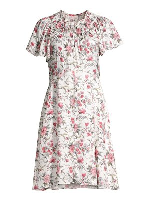 Rebecca Taylor esmee floral silk dress