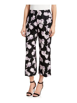 Rebecca Taylor Ikat Blossom Ankle Pants