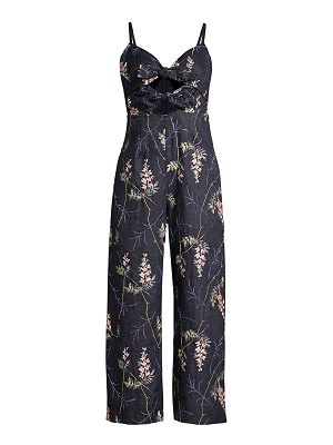 Rebecca Taylor ivie embroidered jumpsuit