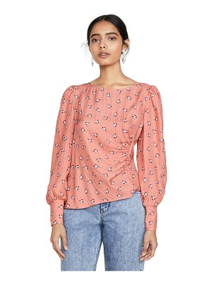 Rebecca Taylor long sleeve brigette blouse
