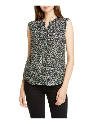 Rebecca Taylor louisa floral print sleeveless top