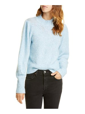Rebecca Taylor optic nep balloon sleeve sweater