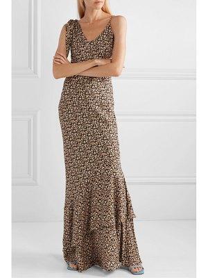 Rebecca Vallance ellie floral-print crepe maxi dress