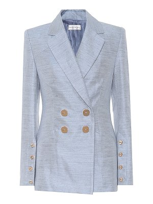 Rebecca Vallance Maya cotton and linen blazer