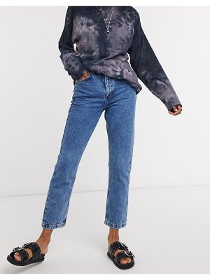 Reclaimed Vintage inspired the 91' mom jean in classic blue