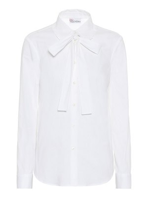 Red Valentino cotton-blend blouse