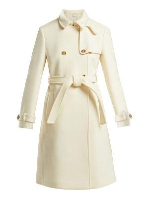 Red Valentino Double breasted belted wool coat