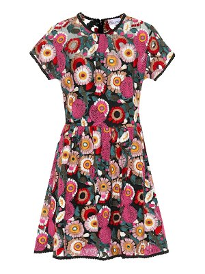 Red Valentino floral embroidered minidress