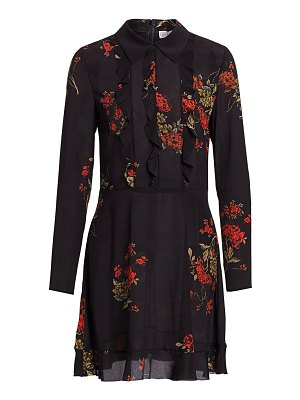 Red Valentino floral shirtdress