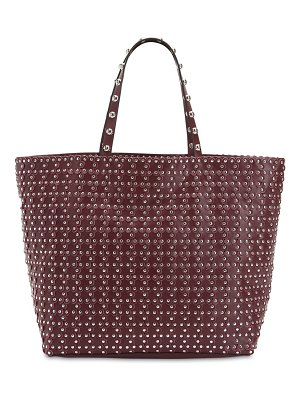 RED V Puzzle studded leather tote bag