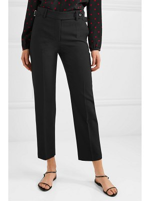 Red Valentino grain de poudre tapered pants