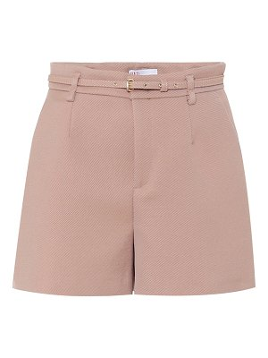 Red Valentino high-rise shorts