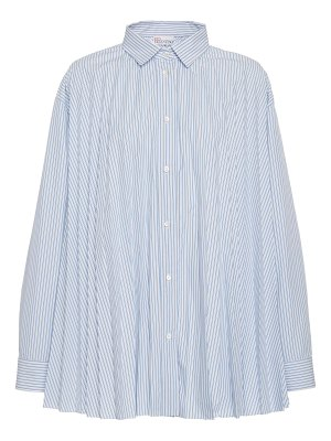 Red Valentino pleated button down shirt