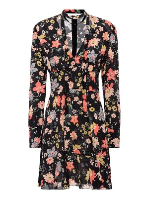 Red Valentino Printed silk minidress