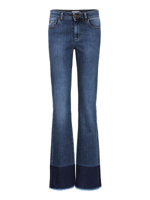 Red Valentino Raw hem jeans