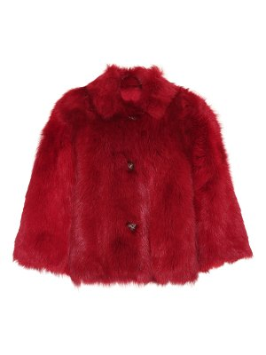 Red Valentino reversible fur jacket