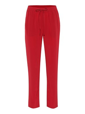 Red Valentino silk pants