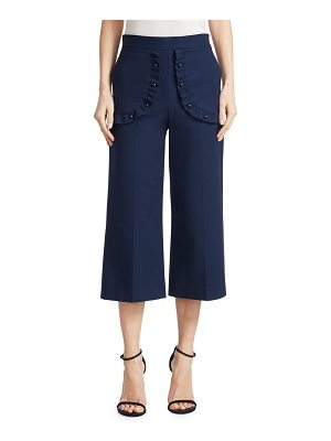 Red Valentino stretch cropped pants