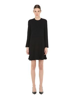 Red Valentino Viscose crepe mini dress w/ bow