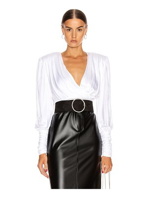 Redemption draped top