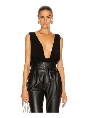 Redemption jersey wide draped top