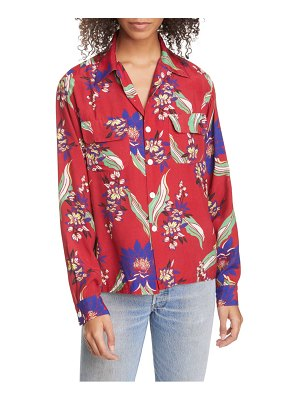 RE/DONE '40s floral print shirt