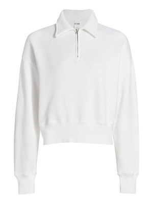 RE/DONE 70s half-zip sweatshirt