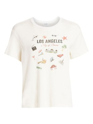 RE/DONE 70s los angeles oversized cotton tee