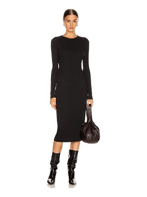 RE/DONE 90's long sleeve ribbed dress