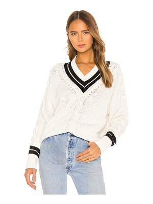 RE/DONE 90s tennis sweater