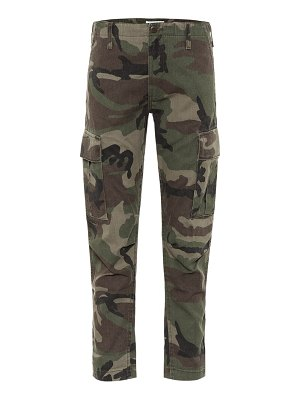 RE/DONE camo twill cargo pants