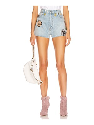 RE/DONE classic embellished short
