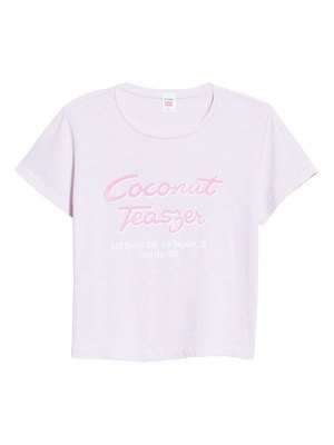 RE/DONE coconut teaser graphic tee