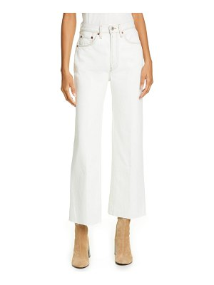 RE/DONE originals crop wide leg jeans