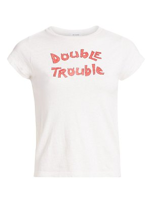 RE/DONE double trouble slim tee